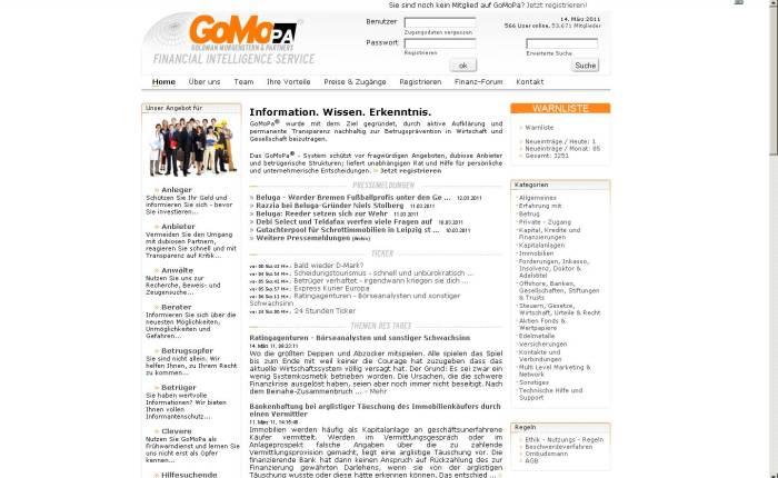 """Neue Serverangriffe der vorbestraften Finanzbetrüger der """"GoMoPa"""" und ihrer """"Partner"""" mutmasslich """"Peter Ehlers"""" und """"OtmarKnoll"""""""