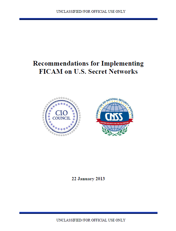CNSS-ImplementingFICAM