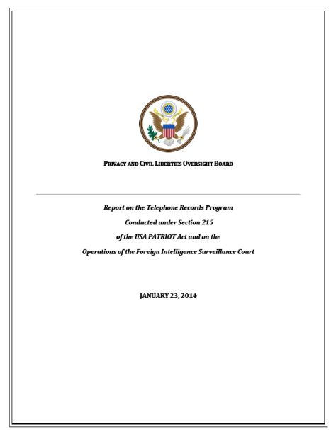 PCLOB-Report