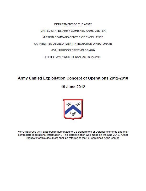 USArmy-UnifiedExploitation